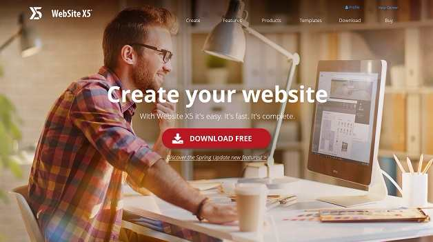 best e commerce website builders - website X5
