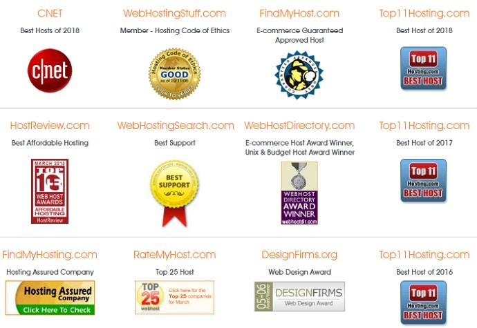 MochaHost Coupon Code - Awards