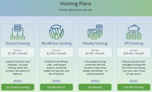 WebHostingPad Coupons & Promo Codes - Hosting Types
