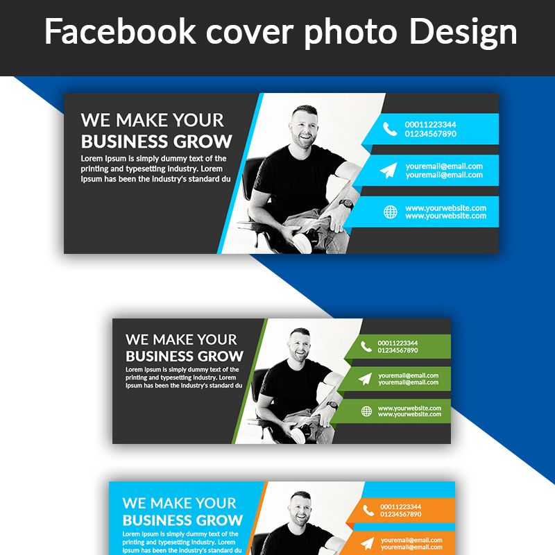 Facebook Cover Photo Design - Best Social Media Templates