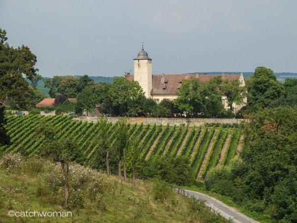 Die Hallburg auf der Fränkischen Weininsel
