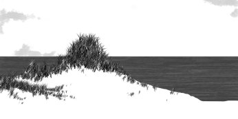 Ilustración paisaje. Landscape Illustration.
