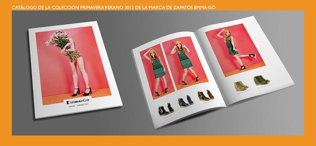 Catálogo primavera verano de Emma Go. Colección 2012 de la marca de zapatos Emma Go. Emma Go shoes. 2012 spring-summer catalog.
