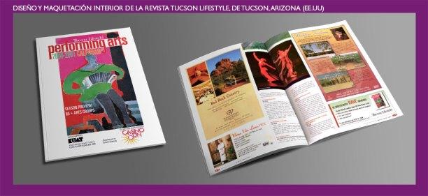 Tucson Lifestyle Magazine. Diseño publicitario y editorial para la revista Tucson Lifestyle. Advertising and publishing design for Tucson Lifestyle Magazine.