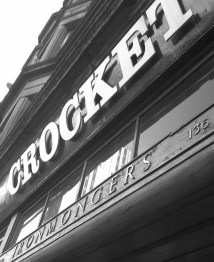 Crockets, the last of the great Glasgow retail institutions? West Nile Street