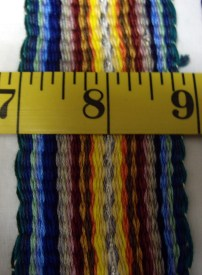 Wide - Multi-Colored Stripes, Dashes, and Stripes