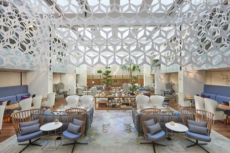 Dining Area, Mandarin Hotel, Barcelona.