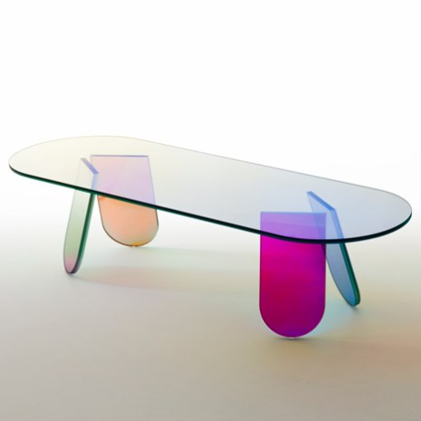 Glass Italia Shimmer Table.