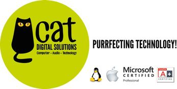 Cat Digital Solutions Logo