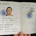 NK Visa, showing my entry, exit etc.