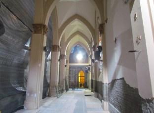 Avançam as obras de reforma interna da Catedral