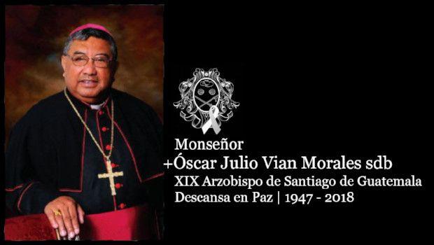 Pésame por fallecimiento de Monseñor Óscar Julio Vian