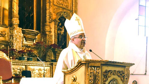 Monseñor Víctor Hugo Palma - Obispo de Escuintla