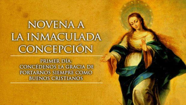 Día 1 – Novena a la Inmaculada Concepción de María