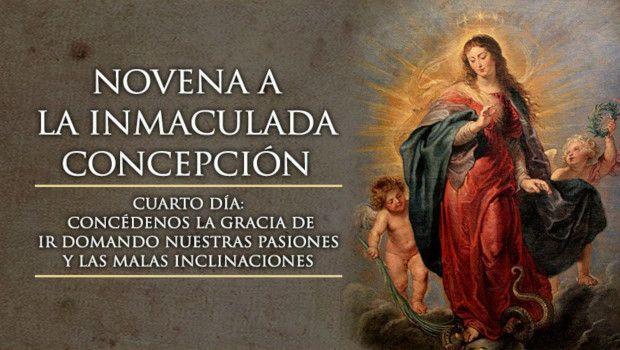 Día 4 – Novena a la Inmaculada Concepción de María