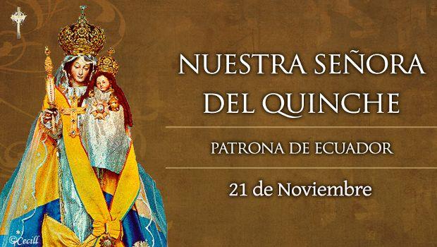 Nuestra Señora del Quinche – Ecuador