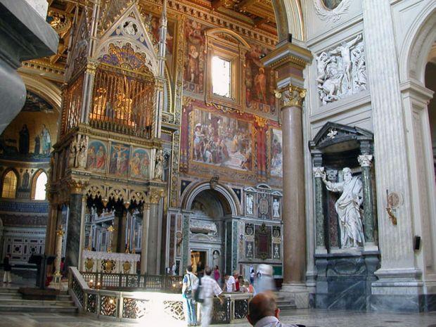 San Juan de Letrán - Altar