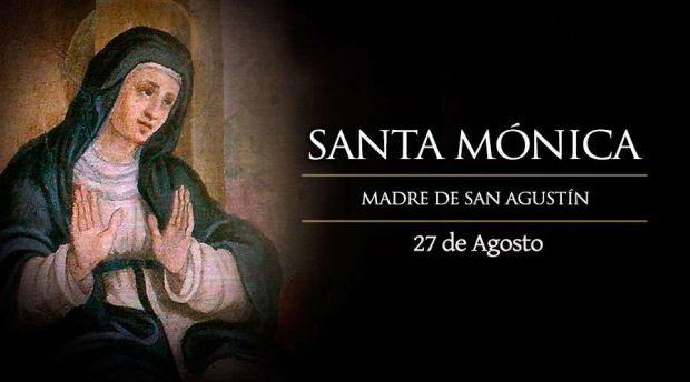 Santa Mónica: ¡Ayuda a mi hijo a volver a Cristo!