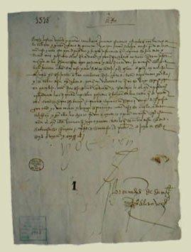 JURAMENTO DE CARLOS I DE ESPAÑA (1516-1556) Granada, 1526