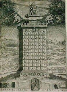 ARCHIDIÓCESIS DE GRANADA: EPISCOPOLOGIO Grabado de Francisco Heylan (fl. 1612)