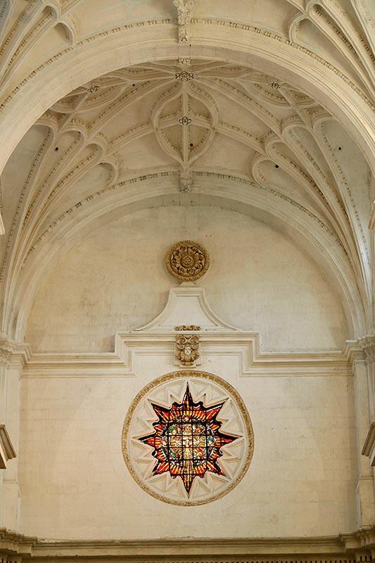 TONDO TRINITARIO-EUCARÍSTICO Desde el interior del templo