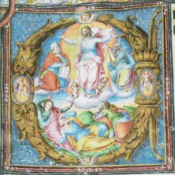 CORAL DE LA CATEDRAL: TRANSFIGURACIÓN DE JESÚS Iluminador: Lázaro de Velasco