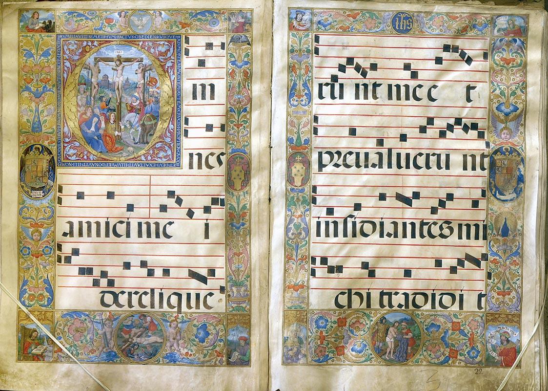 VIERNES SANTO, MAITINES: I NOCTURNO, RESPONSORIO Maestro de 1519