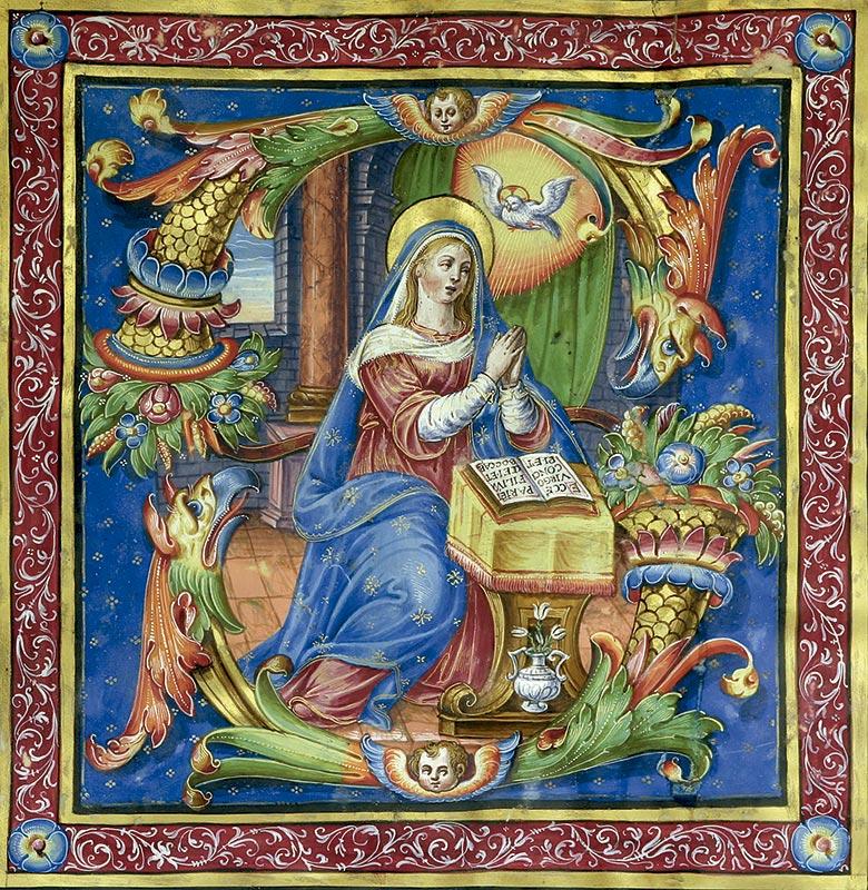 LÁZARO DE VELASCO: Virgen de la Expectación