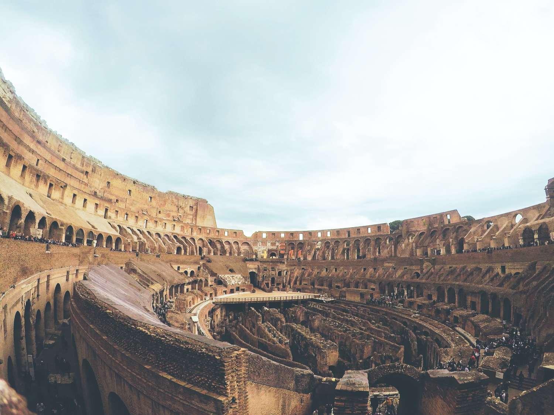 Coliseo Roma Maravilla Mundo
