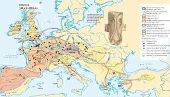Mapa Celta