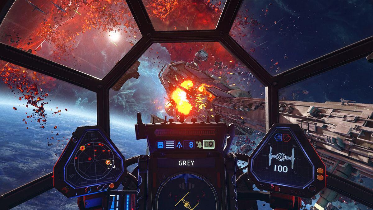 """Trailer de jogabilidade de """"Star Wars: Squadrons"""" mostram a ação do caça  estelar – Categoria Nerd"""