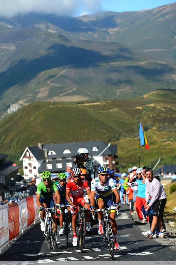 Stage 16 Vuelta Climb Cuitu Negru 2