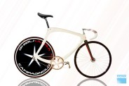 Campagolo rear wheel bicycle white 6 Last