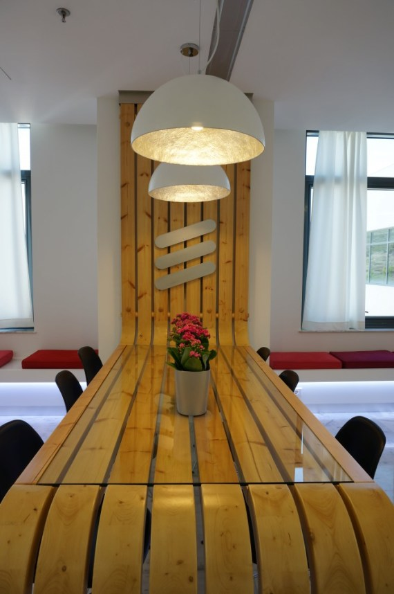 flat table designed by Vasileios Zygouris