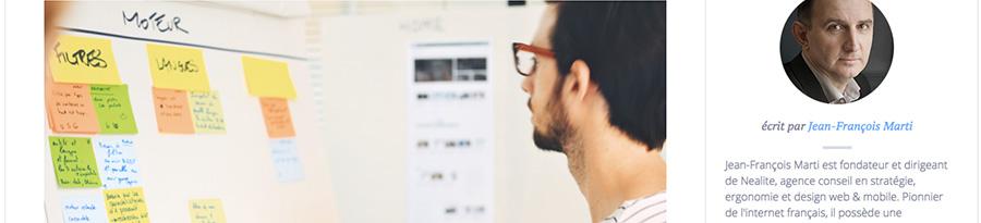 Article sur la nécessité de l'UX dans son business model - article retenu sur le blog de Catepeli