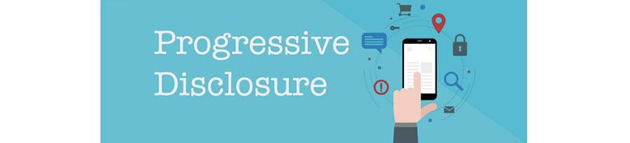 Les design patterns en UX, et le progressive disclosure - article retenu sur le blog de Catepeli