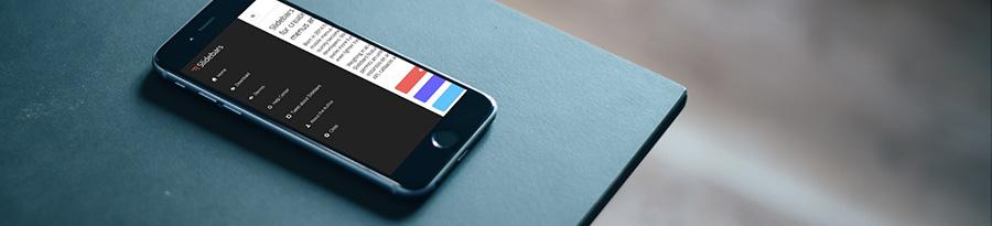 slidebar-framework