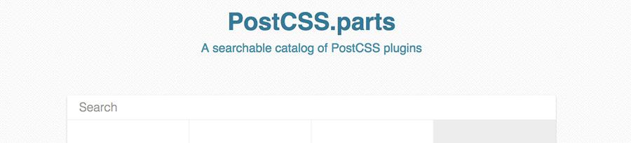 postcss-parts