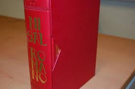 Nueva edición del Misal Romano