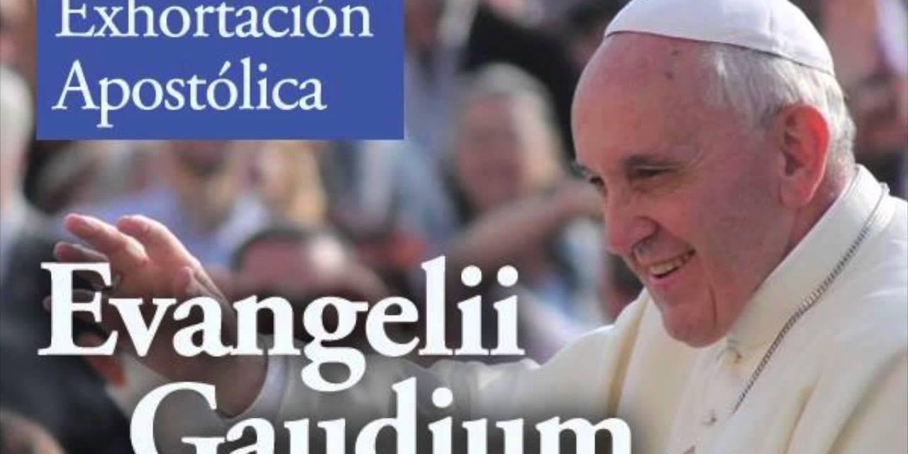 """Evangelii Gaudium cambiando """"predicación"""" por """"catequesis"""""""