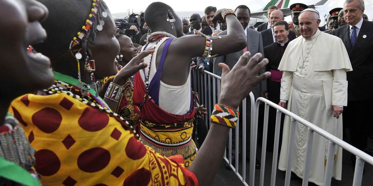 Oremos por África con el Papa