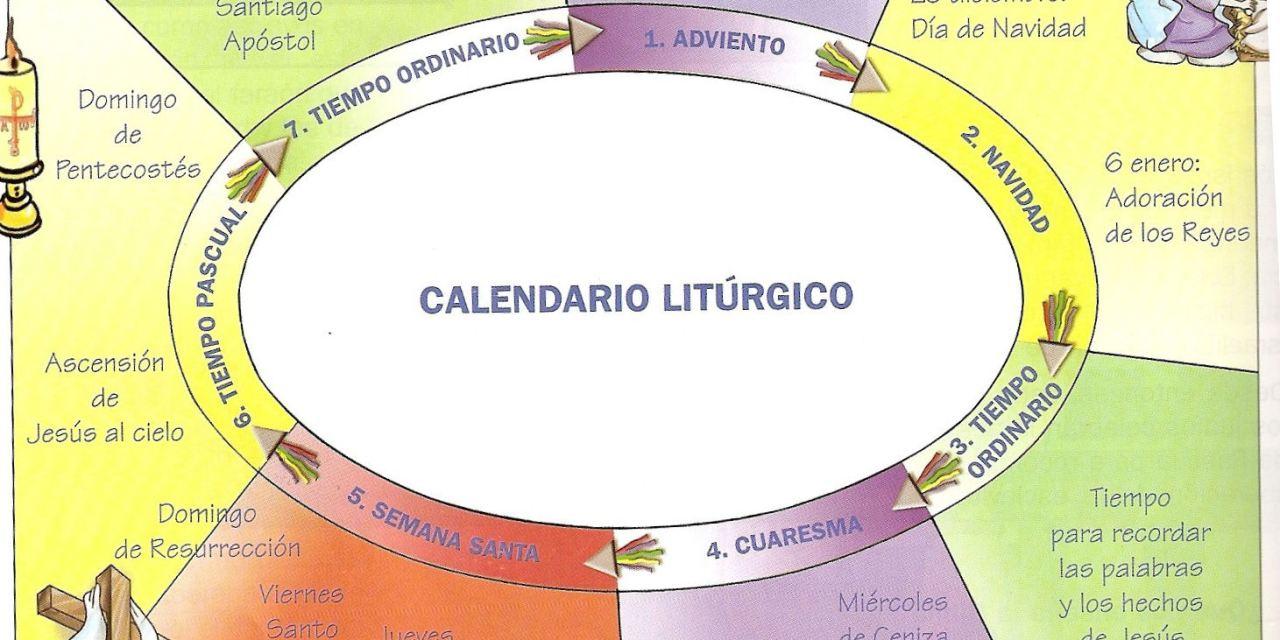 Tiempo de planificar, siguiendo las fiestas litúrgicas