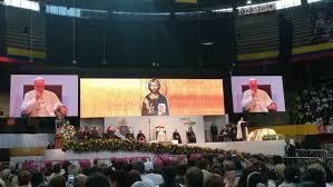 Palabras del Santo padre en el Centro Eventos La Macarena