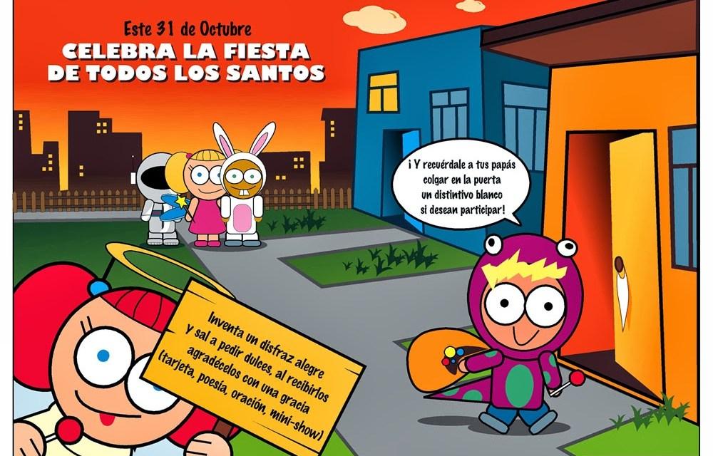 """Fiestas infantiles de """"Todos los Santos"""""""