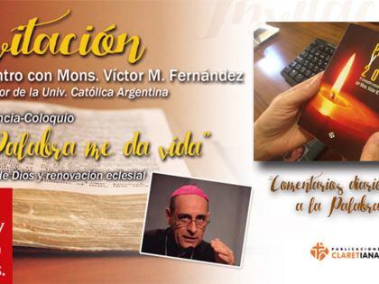 Conferencia de mons. Victor Fernandez EN DIRECTO