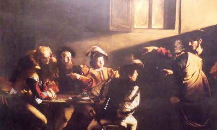 La vocación de San Mateo de Caravaggio