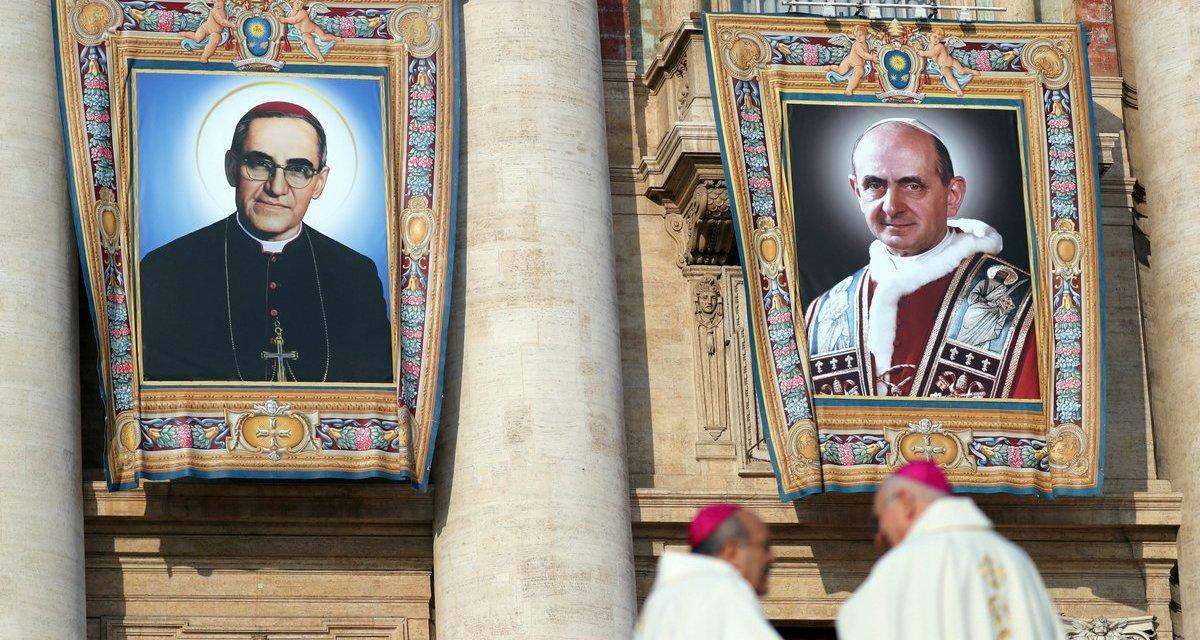 Homilía del Papa en las canonizaciones del 14 de octubre
