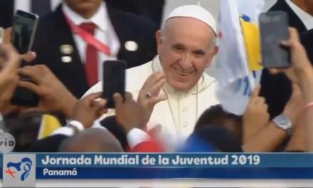 ¡Esta es la juventud del papa!