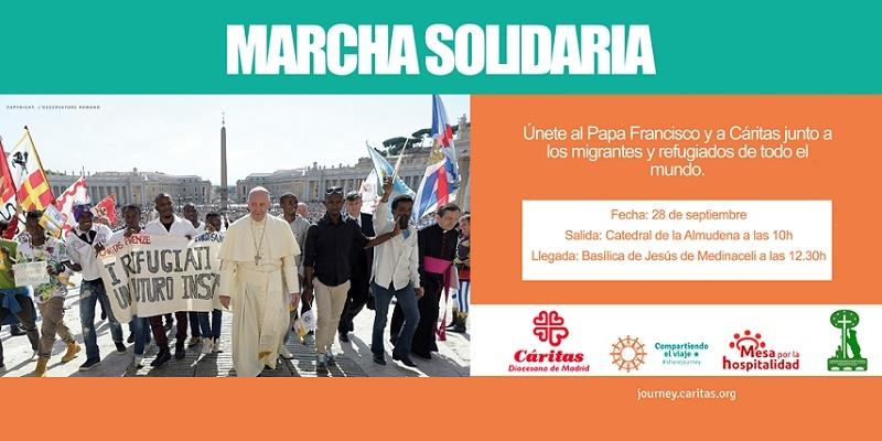 La diócesis acoge una marcha solidaria con migrantes y refugiados el 28 de septiembre