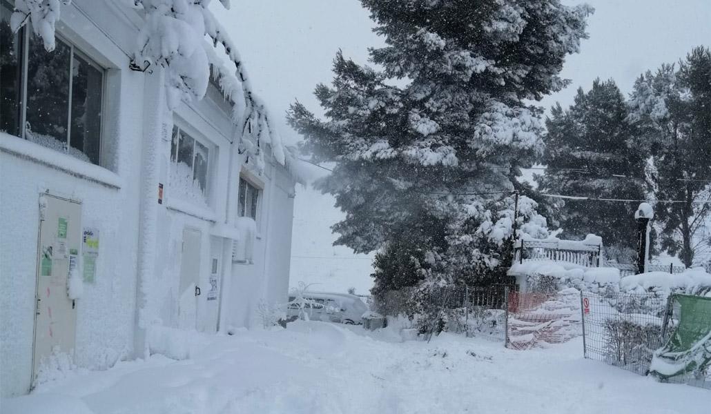Las familias de la Cañada han vivido con mucho frío y angustia el temporal